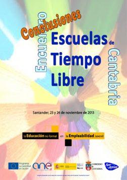 Conclusiones Encuentro Escuelas de Tiempo Libre de Cantabria 2013