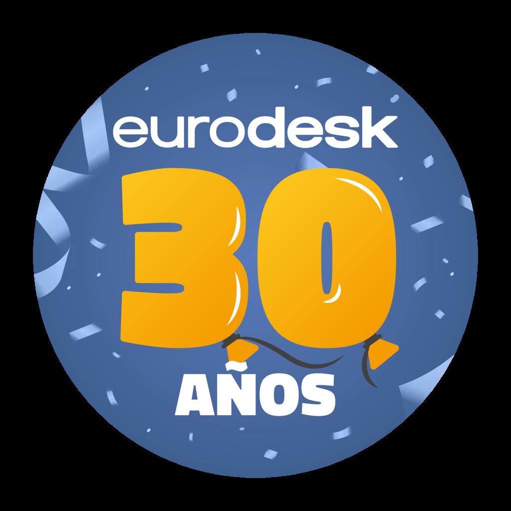 Logo 30 aniversario Red Eurodesk