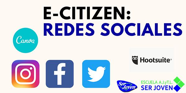 Cartel Curso Redes Sociales