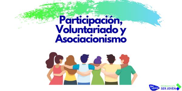 Cartel del Curso Participación Juvenil-Voluntariado y Asociacionismo