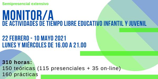 Curso Monitor/a  Univ.Cantabria  (feb-mayo 2021)